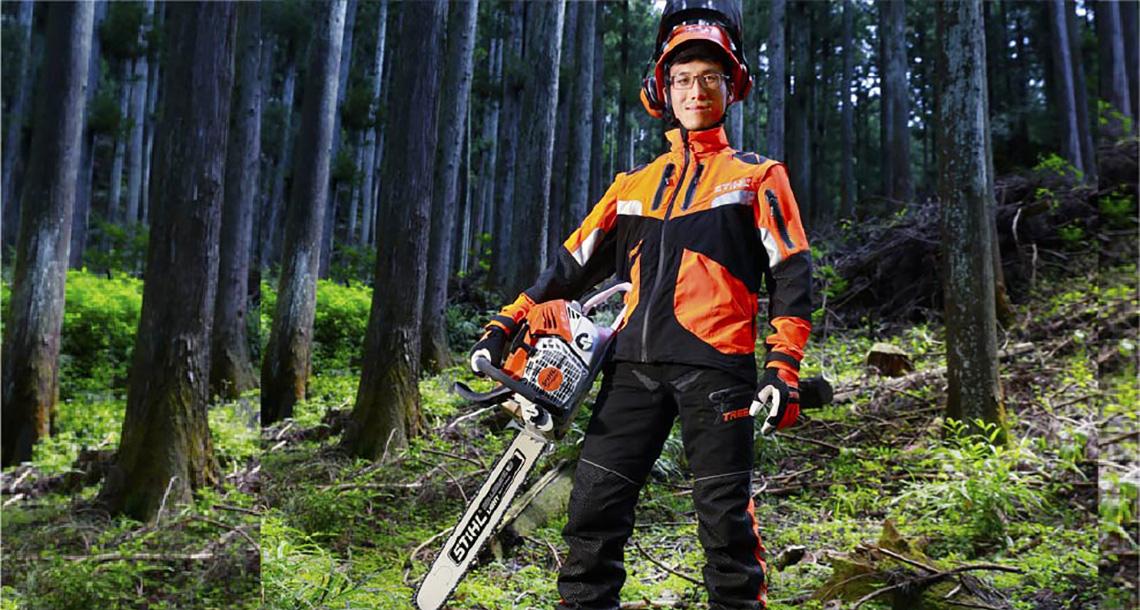 伐木も枝払いもコレ1台でOK!? ウワサのSTIHL最新チェンソー 『MS 500i』を使ってみたの画像